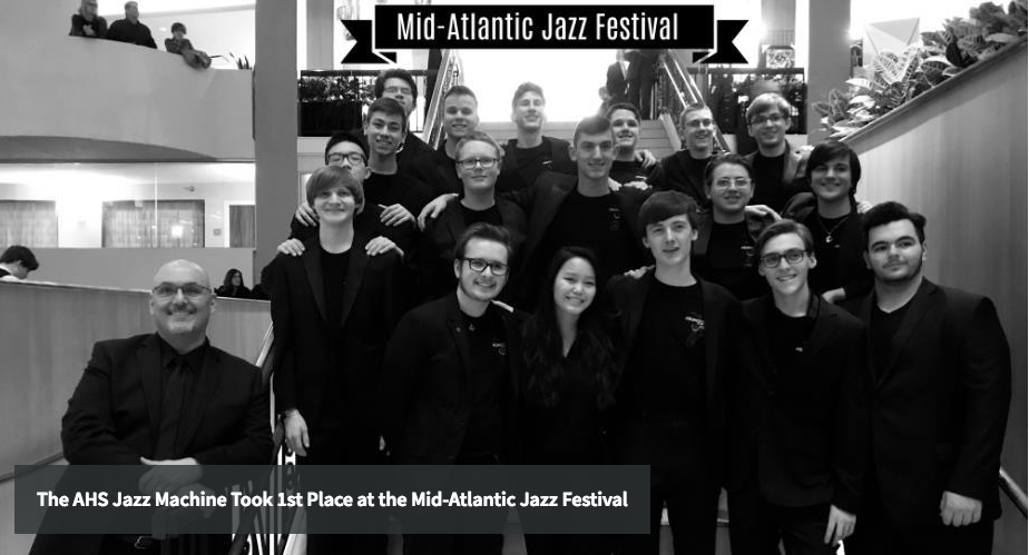 JAZZ MACHINE TAKES 1st PLACE AT THE 2019 MID-ATLANTIC JAZZ FESTIVAL